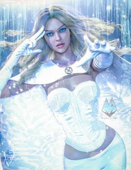 Emma Frost the White Queen Fan Art