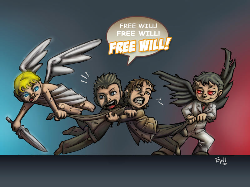 Supernatural Free Will by EryckWebbGraphics