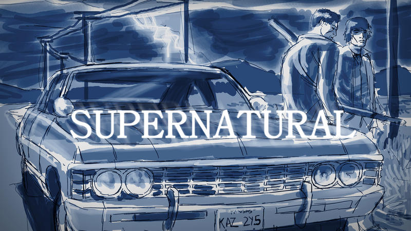 Hunters - Supernatural WP by EryckWebbGraphics