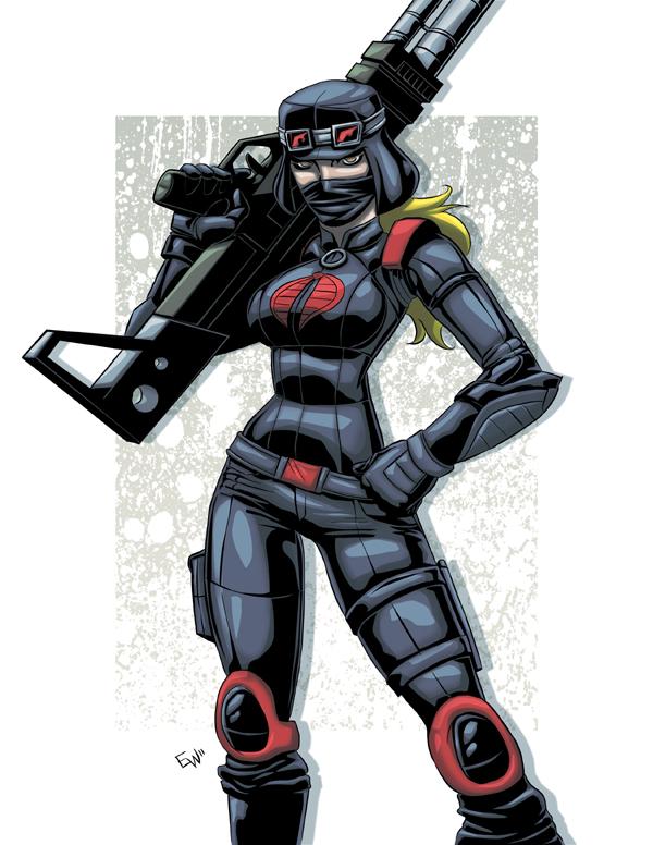 Cobra Nightstalker Trooper by EryckWebbGraphics
