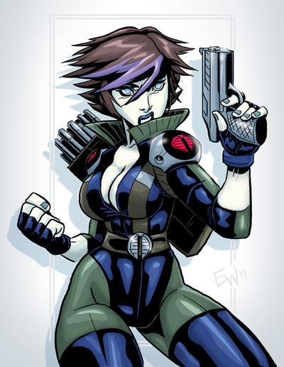 Cobra Lady Jaye - Commish by EryckWebbGraphics