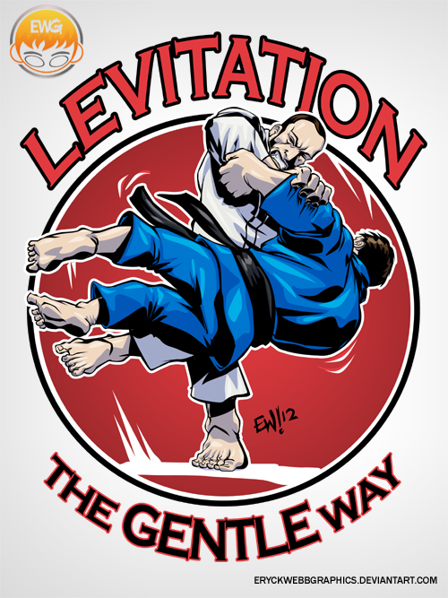 Levitation Judo Tshirt Graphic by EryckWebbGraphics