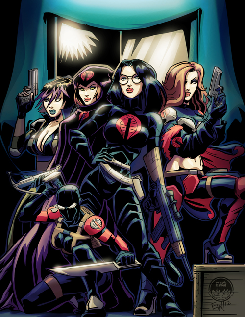 Cobras Femme Fatales - Commission by EryckWebbGraphics