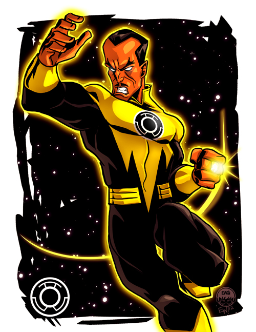 Sinestro VS - 20 Dollar Commission by EryckWebbGraphics