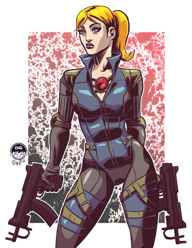 Jill - Commission by EryckWebbGraphics