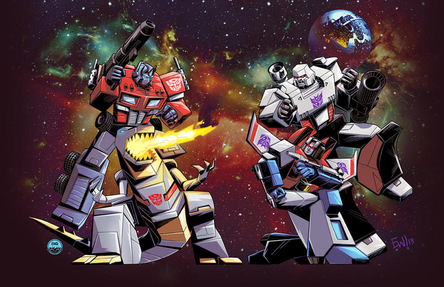 Transformers G1 - Commission by EryckWebbGraphics on DeviantArt