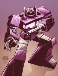 Transformers G1 Shockwave - Commission