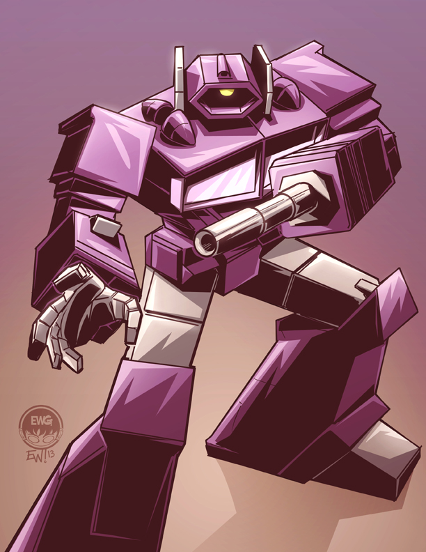Transformers G1 Shockwave - Commission by ...