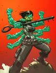 Orochi - Character Art Commission