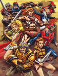 Masters Of The Universe - Heroes - Commission