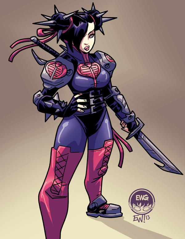Chun Li Cobra Fighter - SS Commission by EryckWebbGraphics