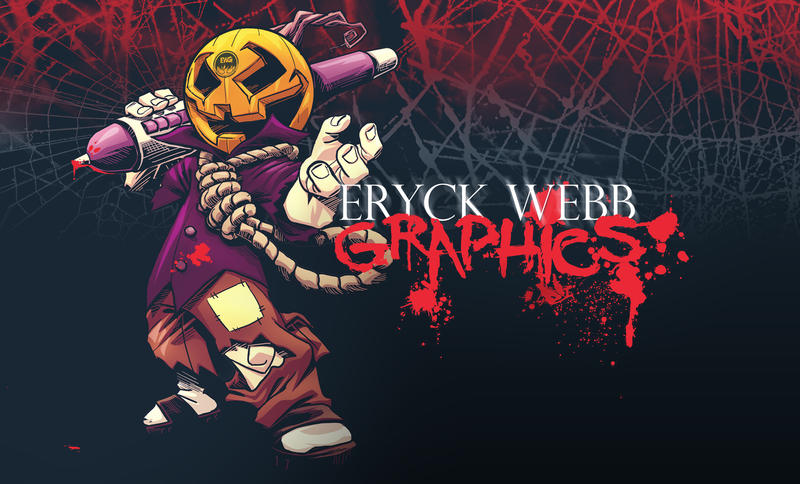 EWG Halloween 2013 - Official Wallpaper - Free DL by EryckWebbGraphics
