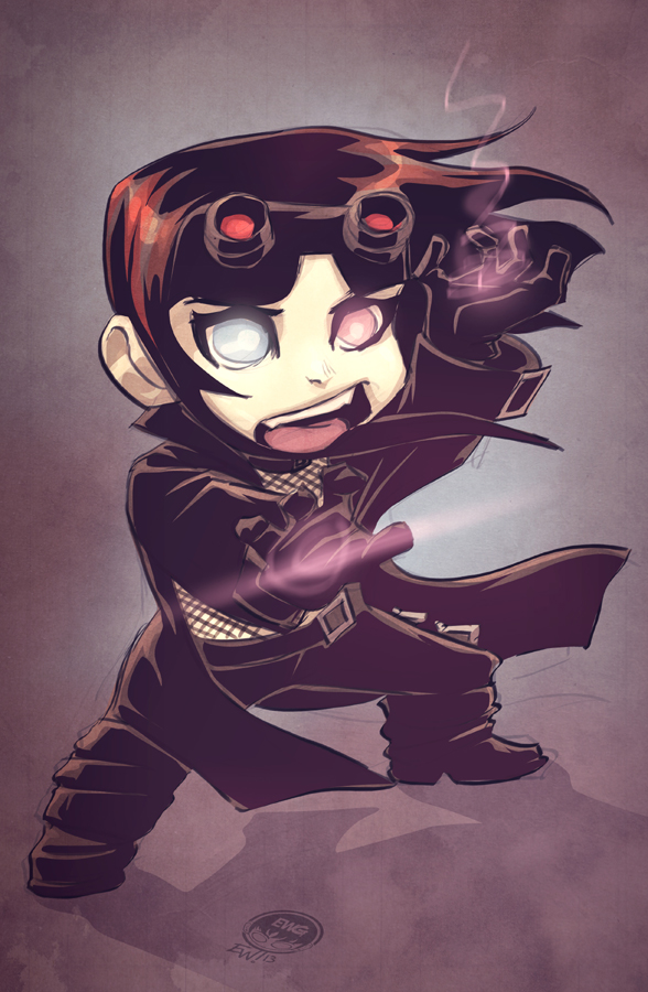 Desecrated Dreams Chibi - EoSS Commission by EryckWebbGraphics