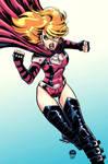 SuperGirl Cobra - Commission Cols