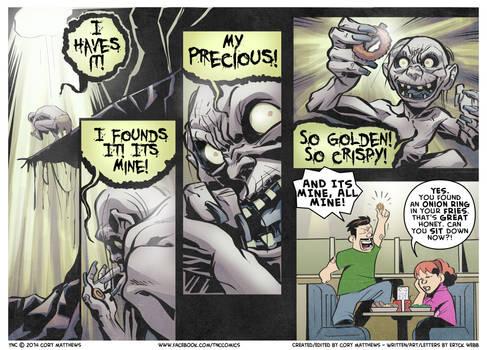 The Ring Is Precious - TnC Webcomic