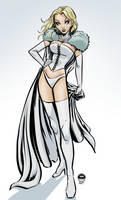 Emma Frost - White Queen - Commission by EryckWebbGraphics