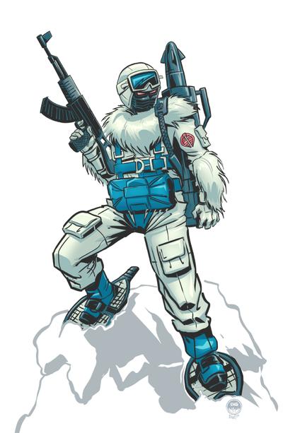 Snow Serpent - Commission by EryckWebbGraphics