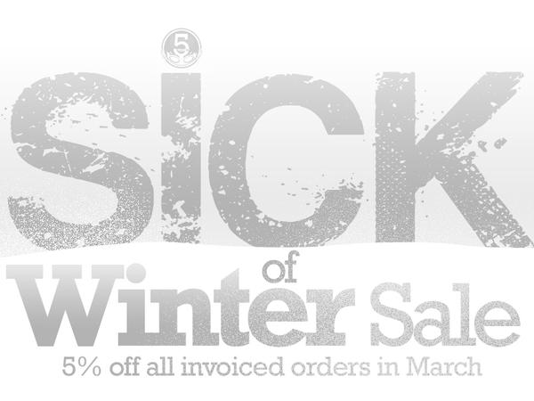 March Sick Of Winter Sale - going on now by EryckWebbGraphics