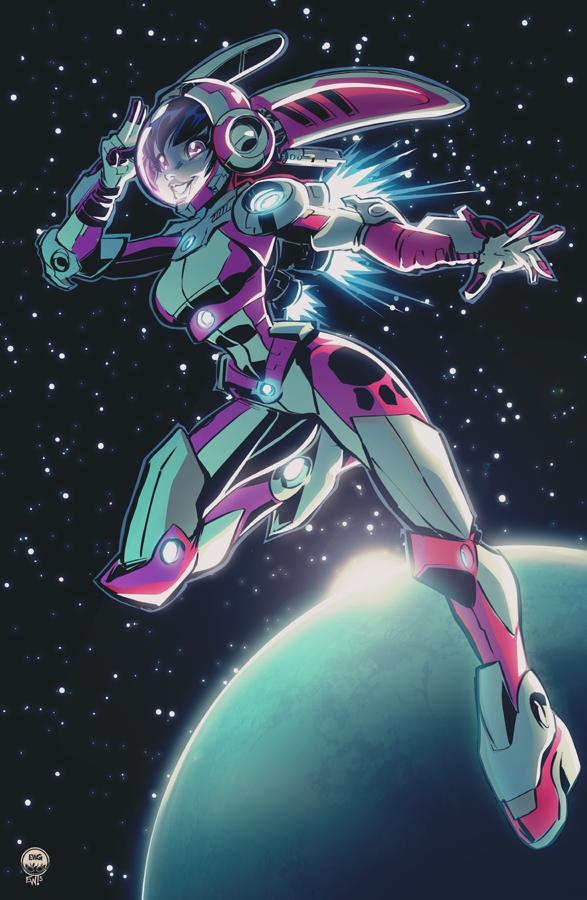 Space Technician Luna by EryckWebbGraphics