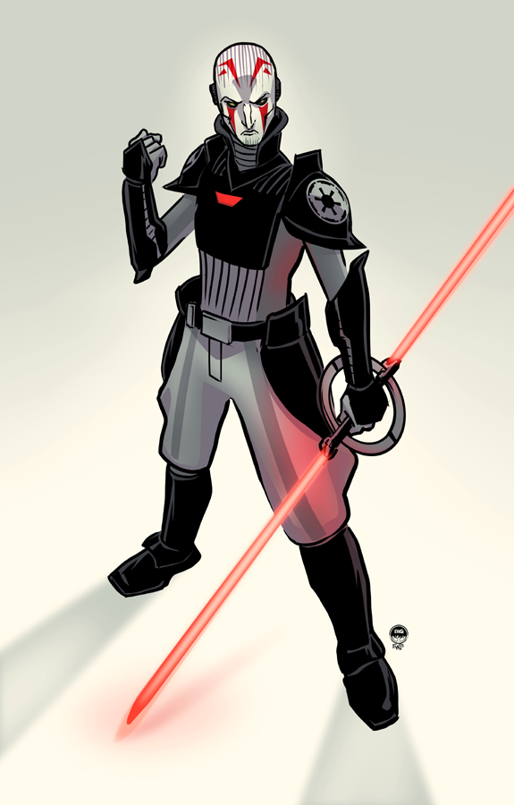 Inquisitor - Fan Art Commission by EryckWebbGraphics
