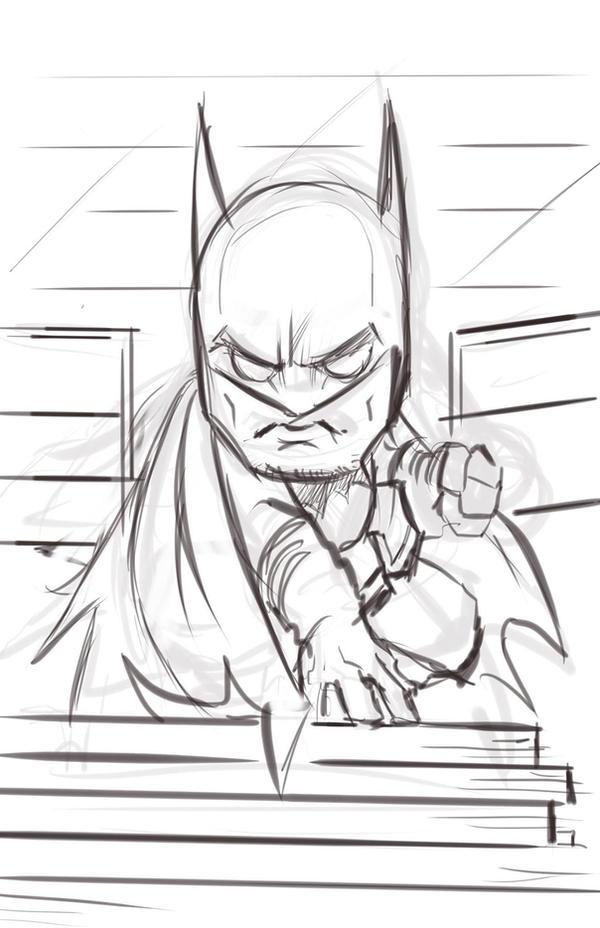 Bat Chibi Pencils by EryckWebbGraphics