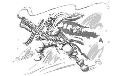 PumpkinWarrior by EryckWebbGraphics