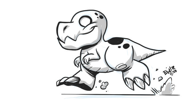 Dinostubs 32420 by EryckWebbGraphics