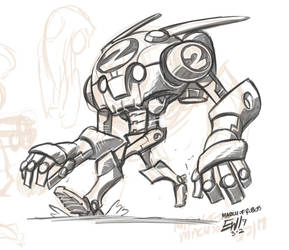 Robot 02 by EryckWebbGraphics