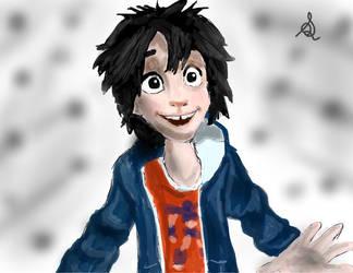 Hiro Hamada from Disney's Big Hero 6 by sarartistt