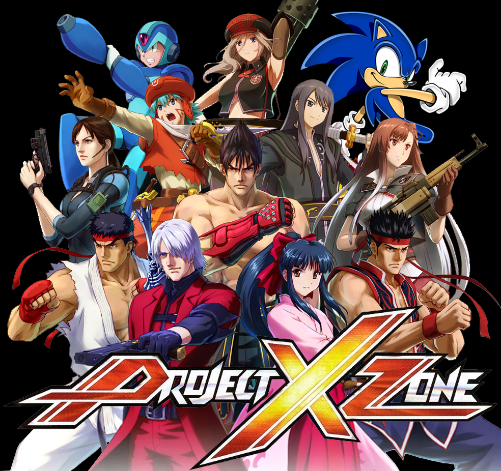 Project X Zone Sonic cover by MagGamTales on DeviantArt