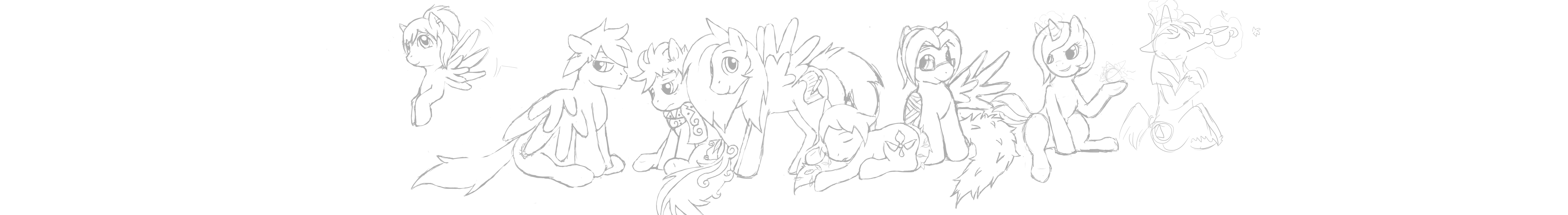 WIP MLP online group pic by SummersBlossom