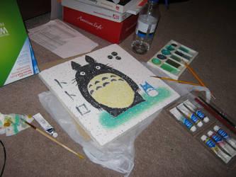 Totoro's Workspace by Jooo-chan