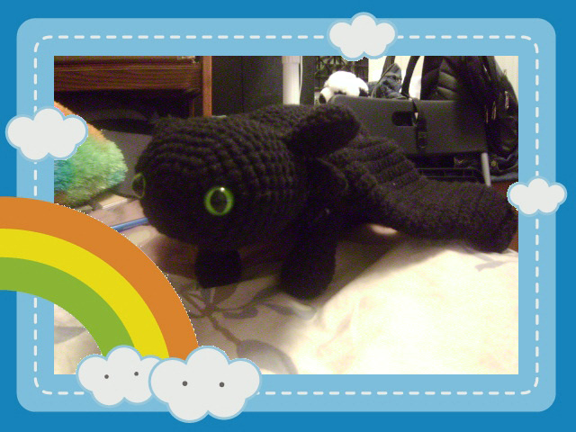 Toothless Amigurumi by kiwicrochet on DeviantArt