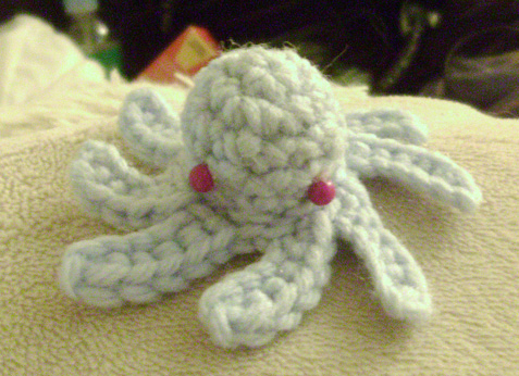 Mini Amigurumi Octopus : mini octopus amigurumi. by kiwicrochet on DeviantArt