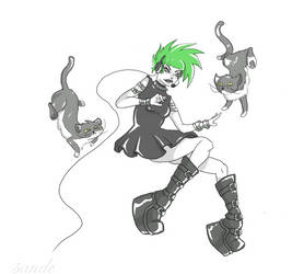 The Crazy Cat Gamer