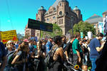 Setting out on the march - Climate Strike Toronto