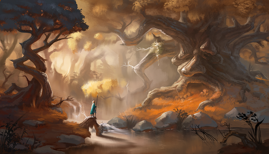 Forest by KatRinch
