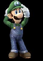 SSBB Luigi Pixelated by EMCarts