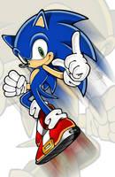 Sonic the Hedgehog by Trinity-DBZ