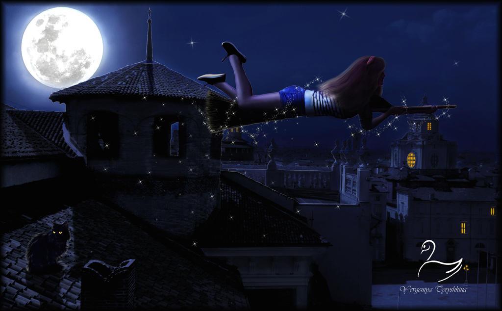 The Witch by SwanYevgeniya