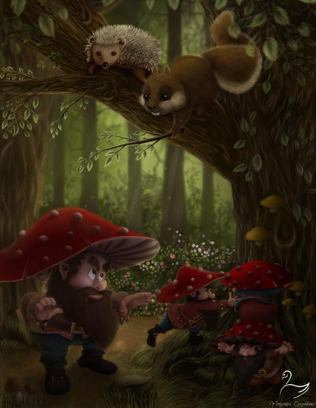 Forest adventure by SwanYevgeniya