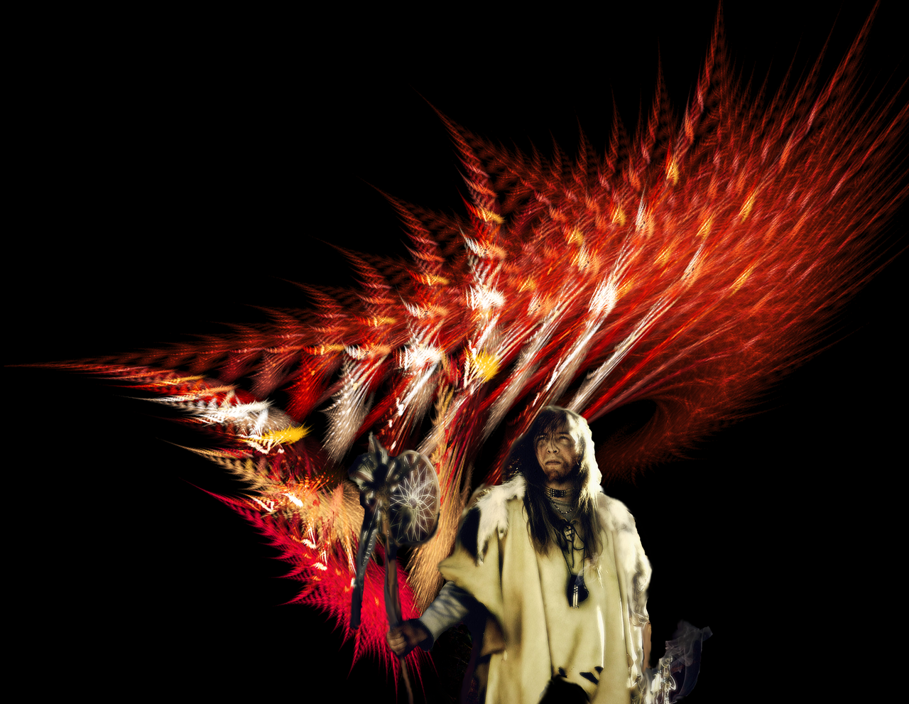 Red Indian Feathers FM by Kazytc on DeviantArt