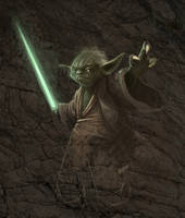 Yoda speedpaint by Norke