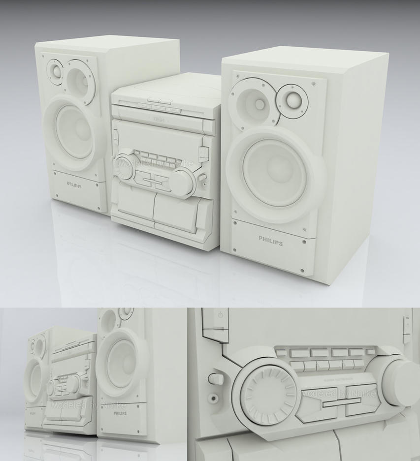 My stereo thingy in 3D by Norke