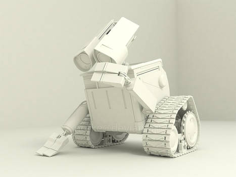 Wall E in Sketchup