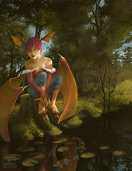 Lilith from DarkStalkers