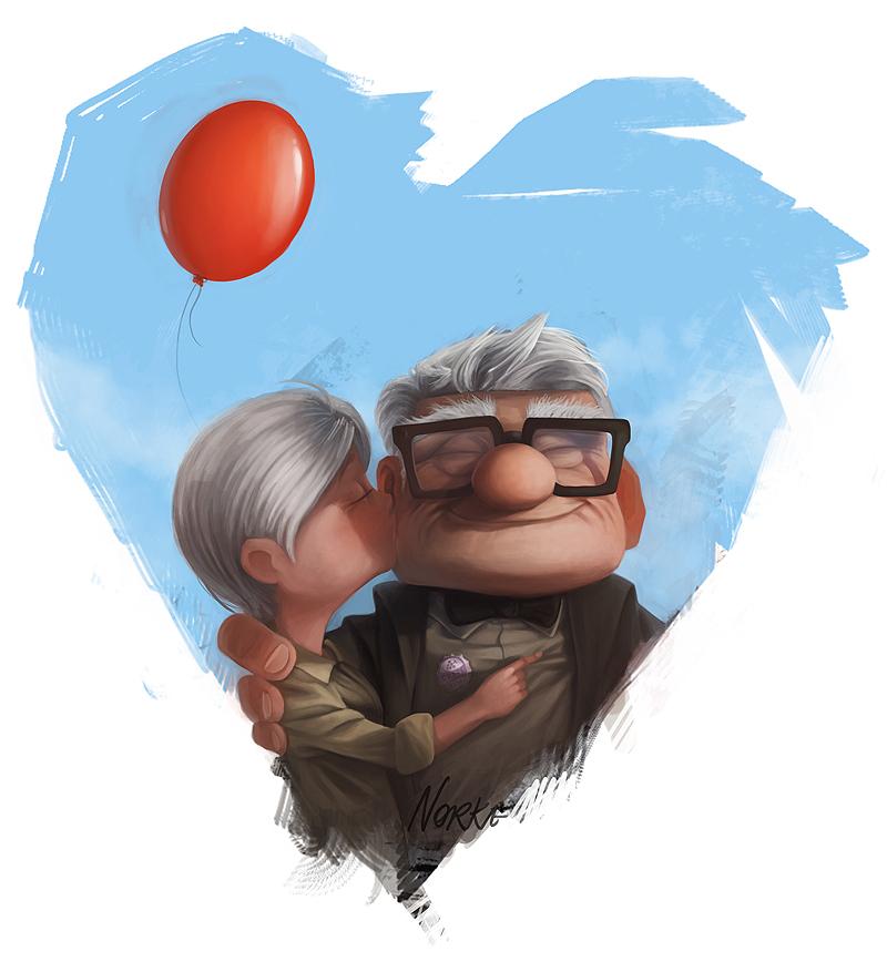 Carl and his big big love