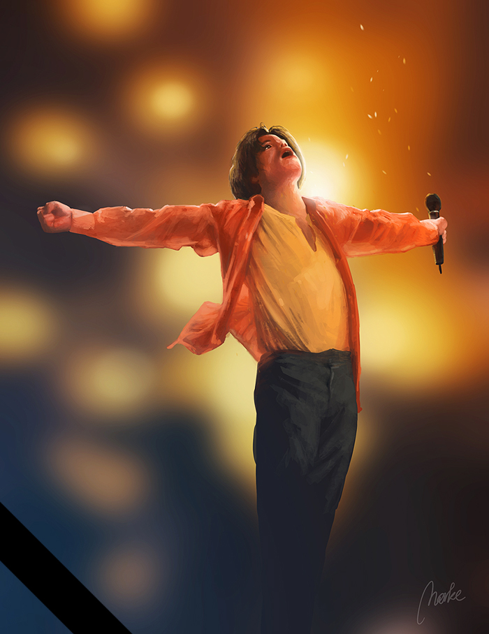 Michael Jackson by Norke