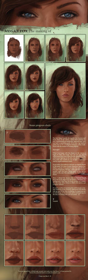 Megan Fox, the making of