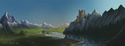 MagiStream landscape by Norke